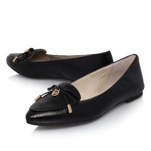 Michael Kors Nancy Black Patent Leather Loafers 5